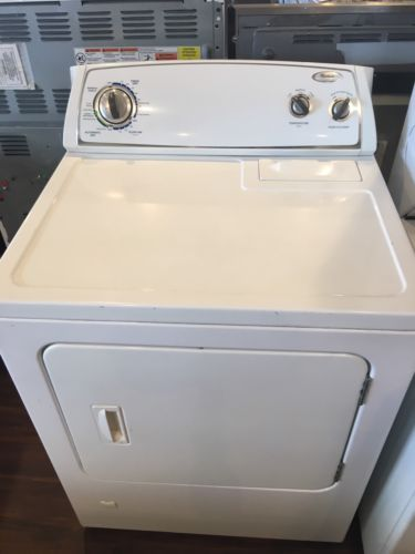 Perfectly Working Whirlpool Gas White Dryer With Warranty