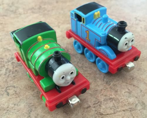 Take Along N Play Diecast Thomas the Train & His Best Friend Percy! See My Store