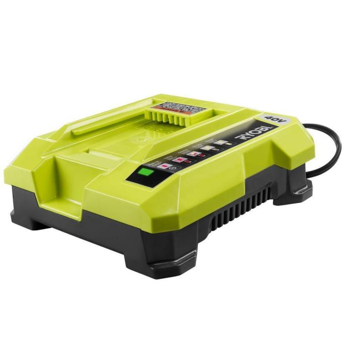 RYOBI  40 V 40 VOLT SLIM COMPACT LITHIUM-ION BATTERY CHARGER OP401