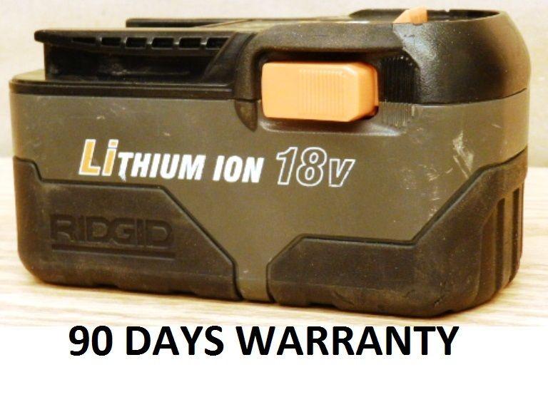RefurbishedRidgid R84008 18V power tools rechargeable li-ion battery