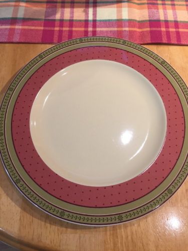 Waverly Garden Room Poland Floral Manor Dinner Plate 10 5/8 Inches