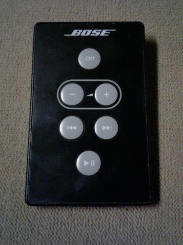 Black Bose SoundDock I Remote  for SoundDock Series 1 10814