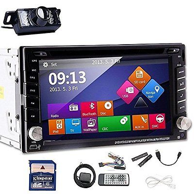 EinCar Windows 8 UI Rear Camera with 6.2-Inch Touch screen Double Din In Dash