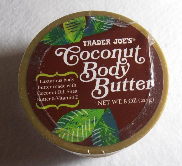 Trader Joe's Coconut Body Butter  Made With Coconut Oil, Shea Butter & Vitamin E