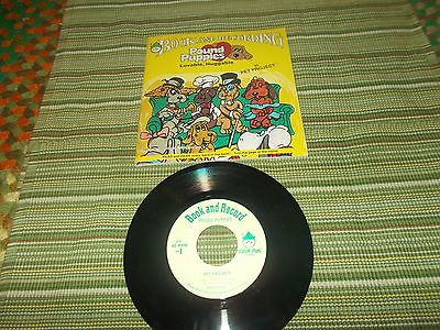 Vintage Peter Pan Pound Puppies Read Along Book & Record Set Pet Project