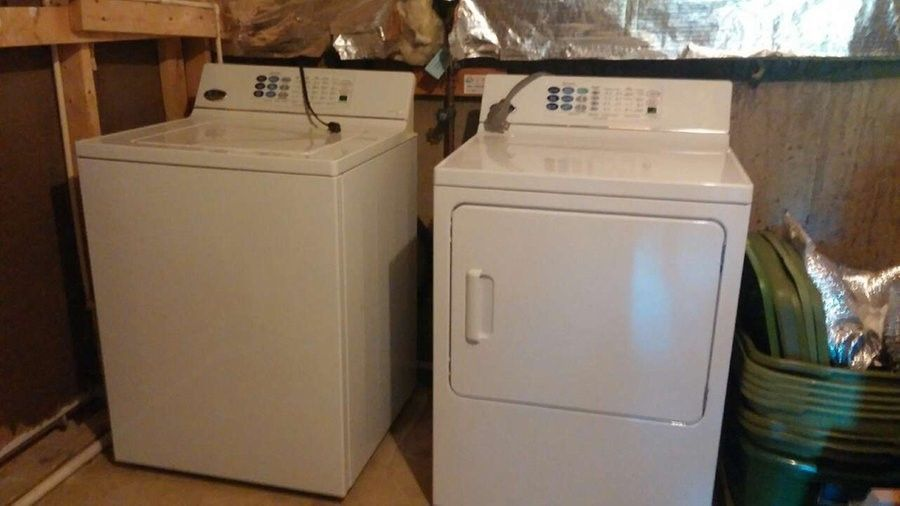 GE Profile Washer and Dryer Electric