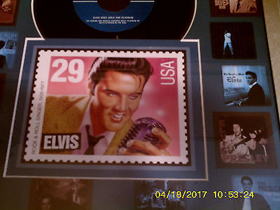usps elvis framed art #23162050