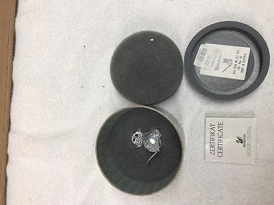 Retired MIB 1 1/4 Swarovski Crystal Metal Tail MINI CAT Figurine 7659 NR 031 000