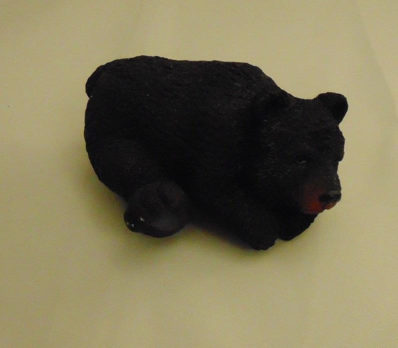 BROWN BEAR WALL MOUNT CABIN FIGURINE DECOR