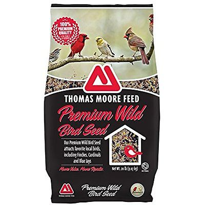 Top Selection from AmazonPets TMF 100% Premium Quality Wild Bird Seed , 20 lb