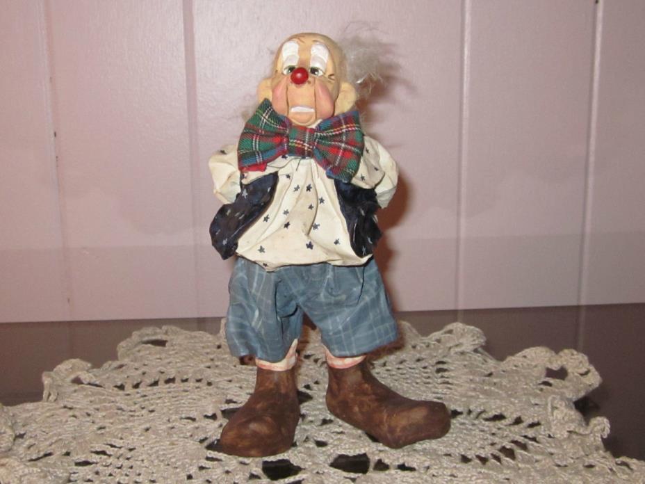 Cast Art Hobo Clown Figure