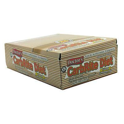 Doctor's CarbRite Sugar Free Bar - Frosted Cinnamon Bun, 12 - 2 oz (56.7 g) bars
