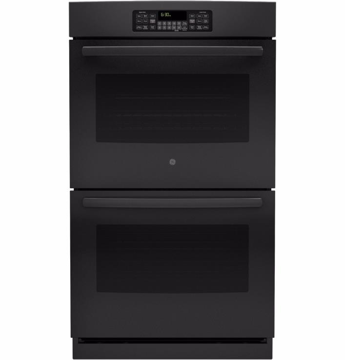 NEW G.E. Double Wall Oven. Black jt3500dfbb