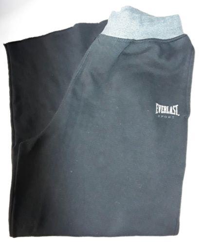 Everlast Girls Womans Black Sweatpants Size XL (14-16) GUC
