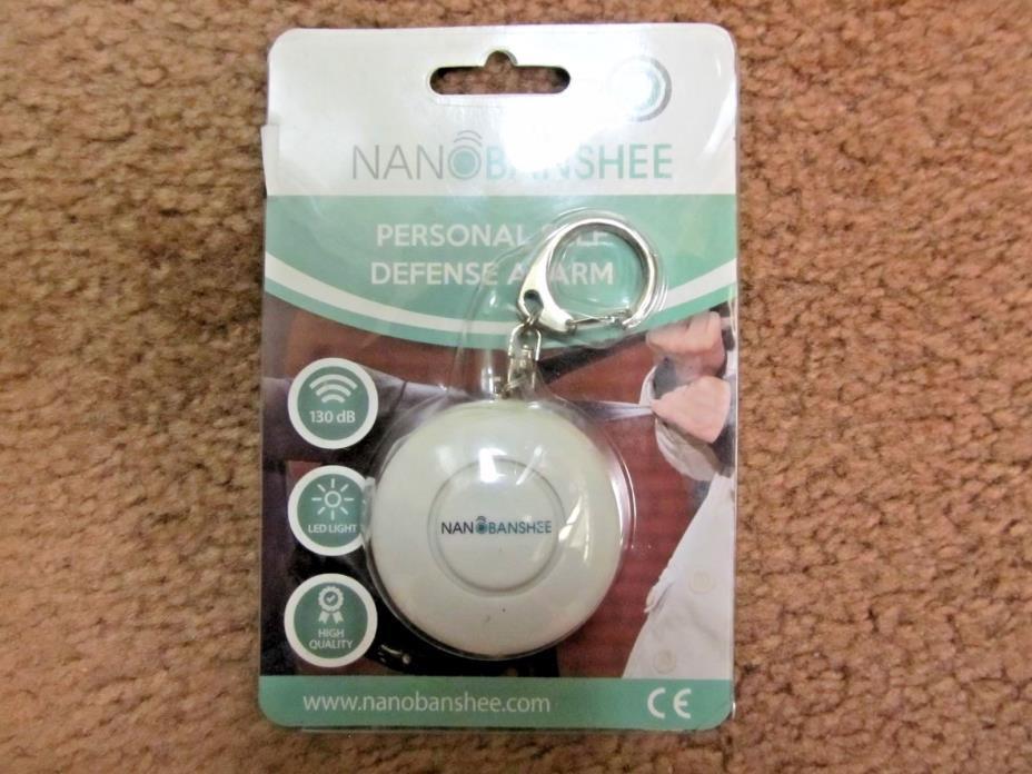 NanoBanshee Personal Self Defense Alarm-new