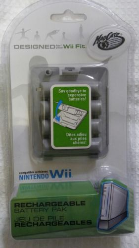 Mad Catz Rechargeable Battery Pac Wii Fit Balance Board Nintendo 728658057725
