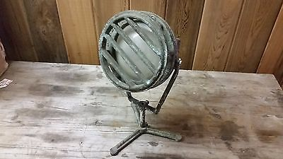 Vintage The Fountain People LL PP250 Brass Underwater Display Light 500 Watts
