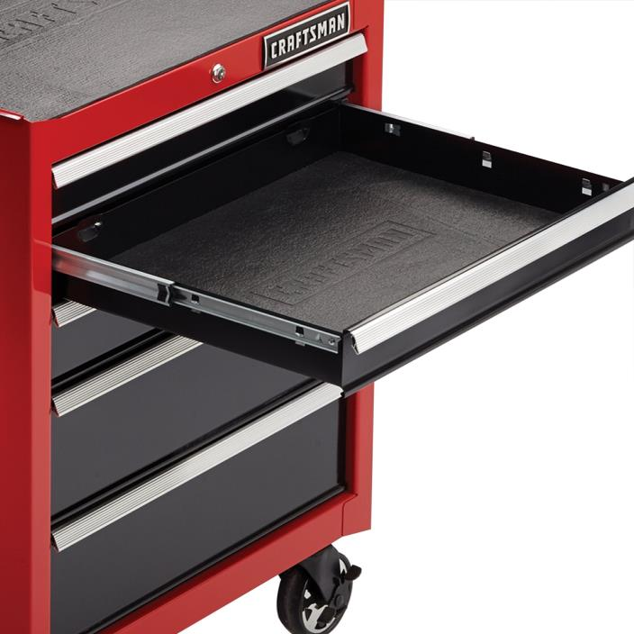 SEARS CRAFTSMAN  NON-SLIP ROLLING TOOL CABINET FOAM DRAWER 5 LINERS 916218