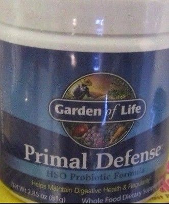 Digestive Health Primal Defense Garden of Life Probiotic Formula 2.86 OZ