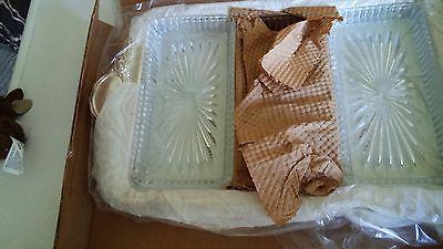 Sheridan Baroque Crystal Relish Tray