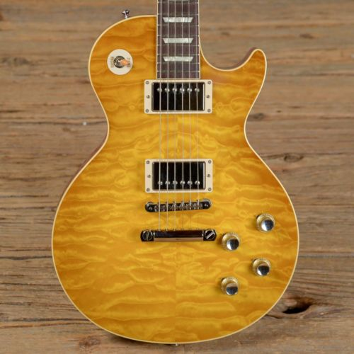 Gibson Custom Shop 60 Reissue R0 Limited Historic Standard Quilt Les Paul Guitar
