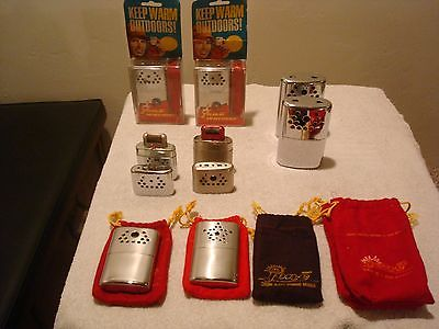 Small Vintage Collection 1960's jon-e Hand Warmers