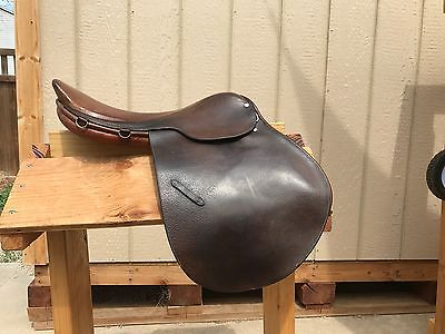 Used Borelli Jump Saddle 16