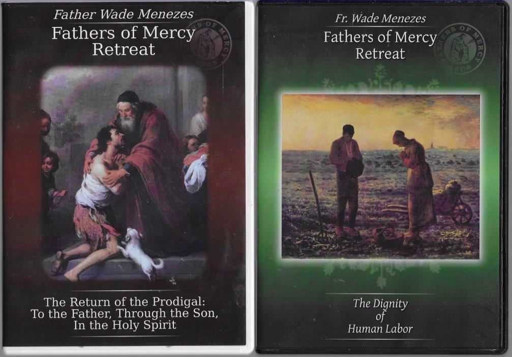 Father Wade Menezes The Dignity of Labor Return of the Prodigal Cd Set Of Mercy