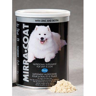 Mirra Coat Powder Dog Canine 1 Pound Nutritional Supplement Skin Coat