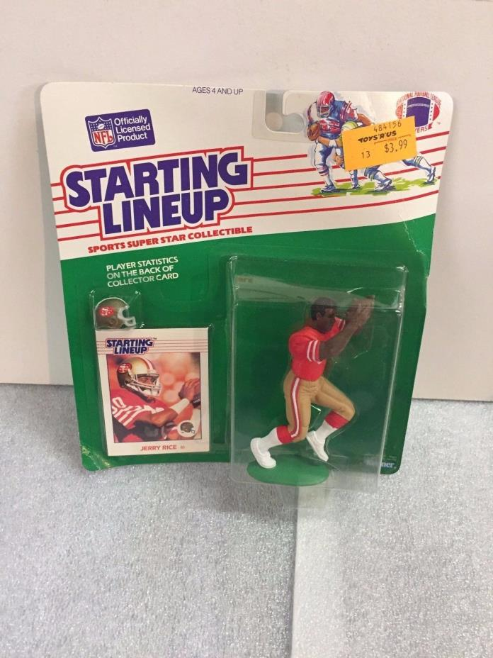 1988 Starting Lineup Football - Jerry Rice