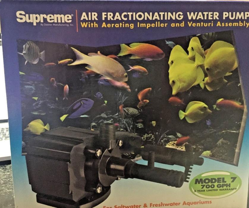 PondMaster Air Fractioning PUMP 700 GPH aquarium