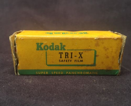 VINTAGE KODAK TRI-X B&W SAFETY FILM TX 120 EXPIRED 1957 Film Still Sealed
