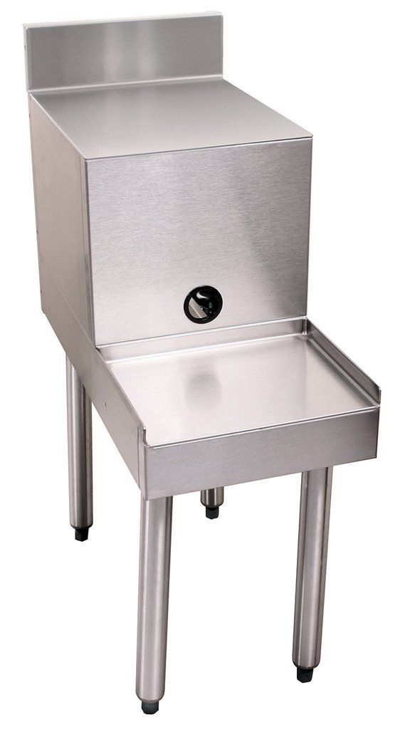 Glastender Stainless Steel Filler Board Blender Station 18