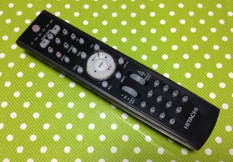 HITACHI CLU-3861WL HL02069 Remote Control for 42HDT79 42HDX99 55HDT79 55HDX99