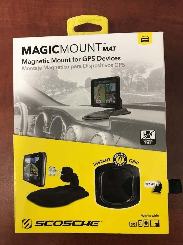 Scosche MAGMAT Magnetic Mount & Mat For GPS Devices -DS343