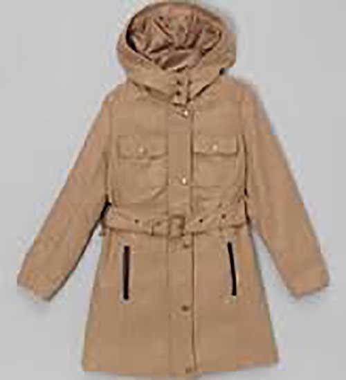 Yoki Girls Warm Trench Coat NWT L 12-14
