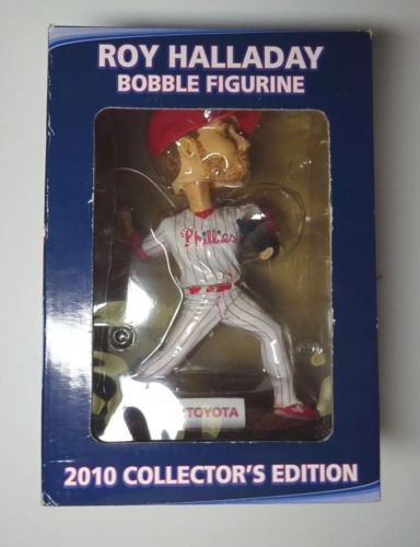 Roy Halladay Phillies Bobble Head Figure Toyota 2010 Collector's Edition
