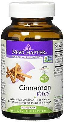 New Chapter Cinnamon Force, 30 Count