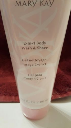 Mary kay 2 in 1 body wash and shave