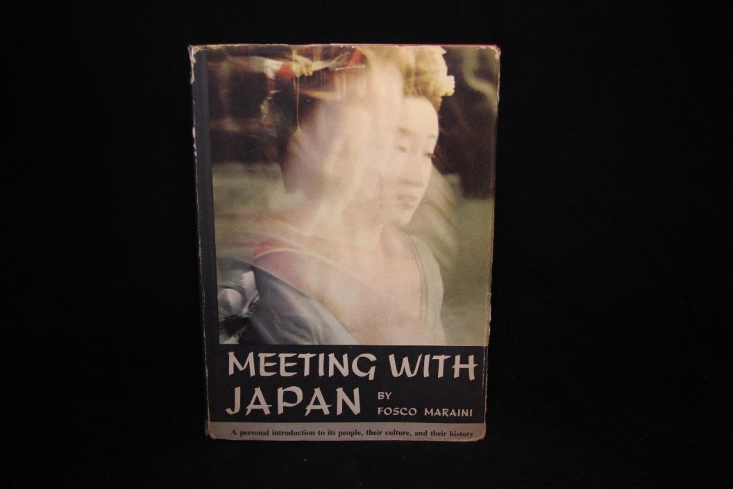 Meeting With Japan by Fosco Maraini - 1960 - VG