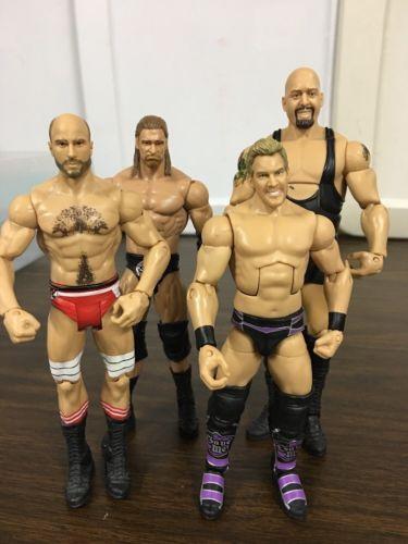 Mattel WWE Elite Action Figure WWF Wrestling Lot Big Show HHH Jericho Cesaro