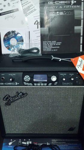 Fender G-Dec 3 Thirty ! 1x 10, USB, SD, Fender Cover ! Combo, MINT ! Band Jam !