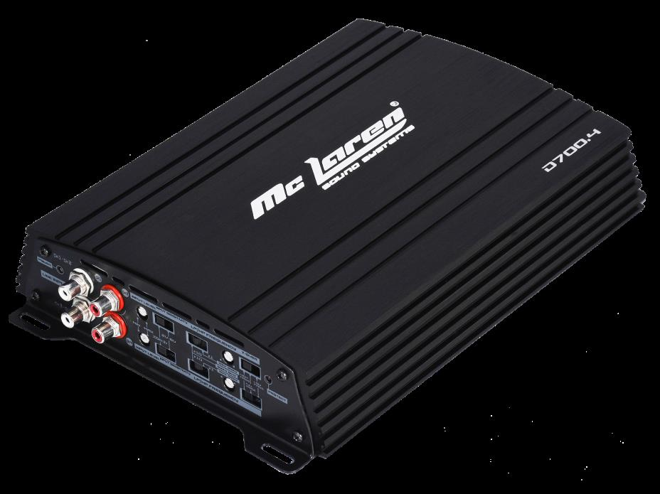 Class D Full Range 4 CH amplifier - Mc Laren Sound Systems 175 Wts X 4 D700.4