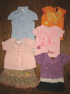 Girls huge lot 5t 5 ans Microbe Catimini Floriane Language IKKS skirt tops
