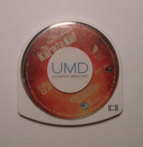 UMD Movie Disk The Karate Kid For PSP Fast/Free Shipping!***