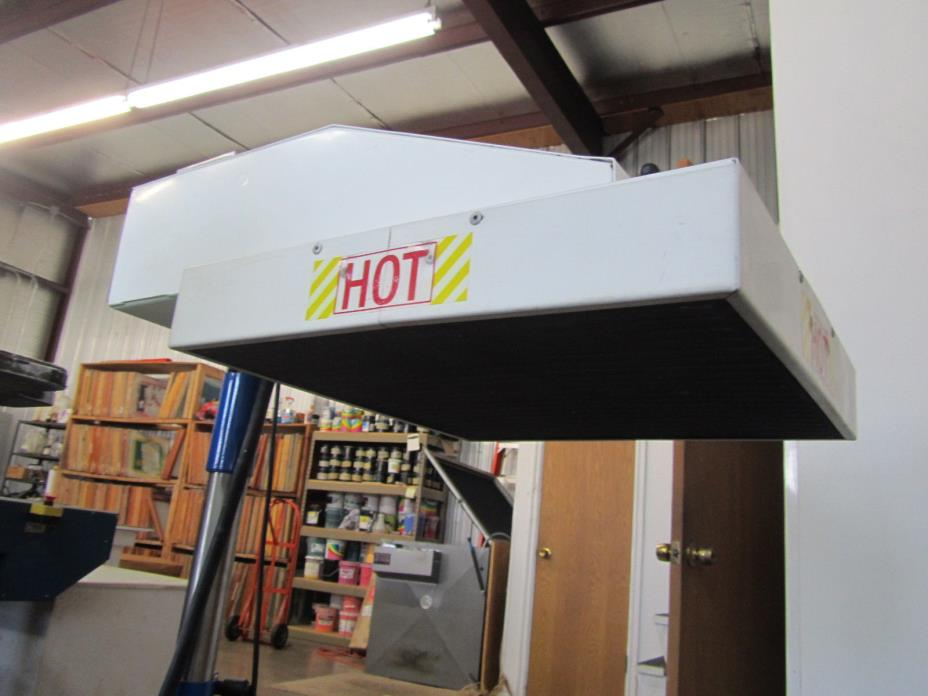 Screen Printing Flash Dryer For Sale Classifieds