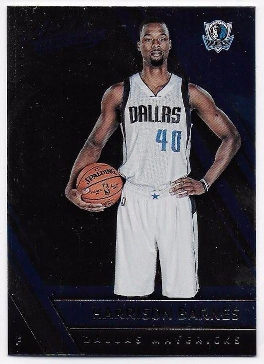 2016-17 Absolute Memorabilia #3 HARRISON BARNES - Dallas Mavericks