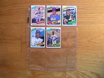 Bo Jackson P4 Mag Insert Cut Card 1990 Baseball Presents #4 Mint Oddball
