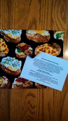 Handmade - Microwave Potato Baker Bag/Hot Pad
