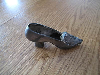 Antique Metal Shoe / Sewing Pin Cushion / Holder?